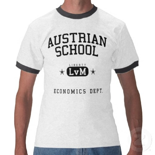 Prove your arrogance and stupidity by wearing a shirt that shows which economic religion you follow.