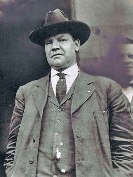 They just don't make 'em like Big Bill Haywood anymore.