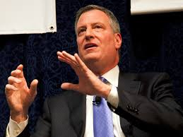 Is Bill de Blasio a symbol of an age of political transition?
